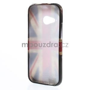 Gelový kryt na HTC One mini 2 - UK vlajka - 4
