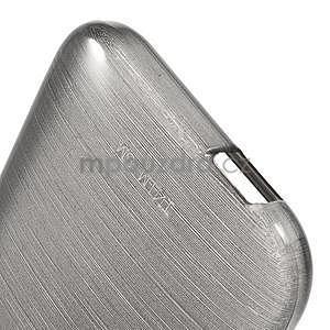 Broušený gelový obal na HTC One mini 2 - černý - 4