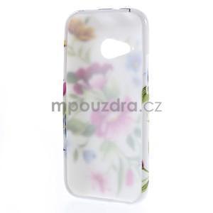 Gelový kryt na HTC One mini 2 - květiny - 4