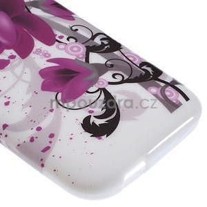Gelový kryt na HTC One mini 2 - lotusový květ - 4
