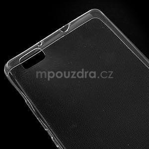 Ultra tenký gelový obal na Huawei Ascend P8 Lite - transparentní - 4