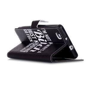 Pouzdro na mobil Huawei P8 Lite - bitch - 4