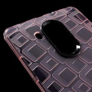 Square gelový obal na Huawei Mate 8 - růžový - 4