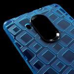 Square gelový obal na Huawei Mate 8 - modrý - 4/5