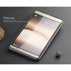 Odolný obal 2v1 s výstuhami na Huawei Mate 8 - šedý - 4