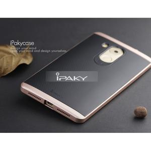 Odolný obal 2v1 s výstuhami na Huawei Mate 8 - zlatorůžový - 4