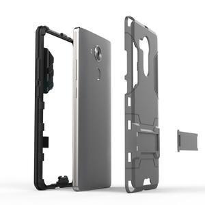 Armor odolný kryt na mobil Huawei Mate 8 - šedomodrý - 4