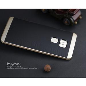Odolný hybridní obal 2v1 na Huawei Mate S - zlatý - 4