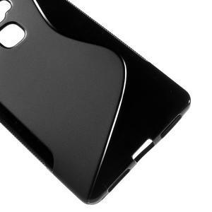 S-line gelový obal na mobil Huawei Mate S - černý - 4