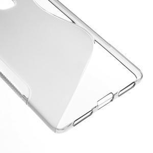 S-line gelový obal na mobil Huawei Mate S - šedý - 4
