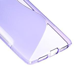 S-line gelový obal na mobil Huawei Mate S - fialový - 4