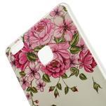 Guardy gelový obal na Huawei P9 Lite - garden rose - 4/5