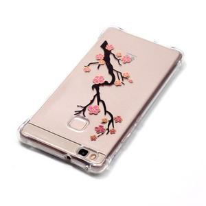 Lacqe gelový obal na Huawei P9 Lite - kvetoucí větev - 4