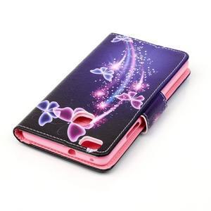 Patter PU kožené pouzdro na mobil Huawei P9 Lite - kouzelní motýlci - 4