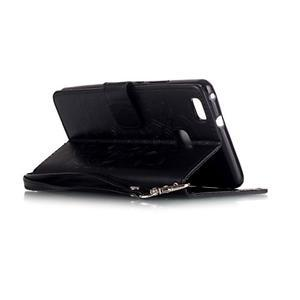 Dreaming PU kožené pouzdro na Huawei P9 Lite - černé - 4