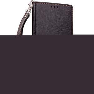 Leaf PU kožené pouzdro na Huawei P9 Lite - černé - 4