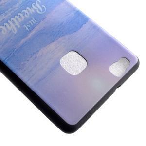 Gelový obal na telefon Huawei P9 Lite - moře - 4