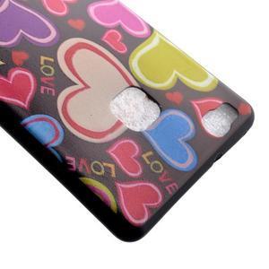Gelový obal na telefon Huawei P9 Lite - srdíčka - 4