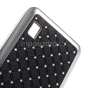 Drahokamový kryt na Huawei Y635 - černý - 4