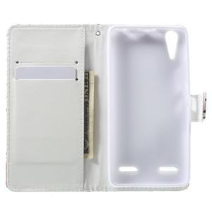 Emotive peněženkové pouzdro na mobil Lenovo A6000 - motýlci - 4