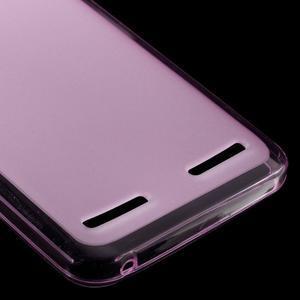 Matný gelový obal na mobil Lenovo Vibe K5 / K5 Plus - růžový - 4