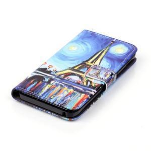 Knížkové pouzdro na mobil Lenovo Vibe K5 / K5 Plus - Eiffelova věž - 4
