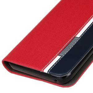 Klopové pouzdro na Lenovo Vibe K5 / K5 Plus - červené - 4