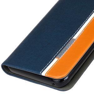 Klopové pouzdro na Lenovo Vibe K5 / K5 Plus - modré - 4