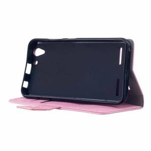 Peněženkové pouzdro na Lenovo Vibe K5 / K5 Plus - růžové - 4
