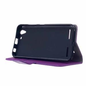 Peněženkové pouzdro na Lenovo Vibe K5 / K5 Plus - fialové - 4