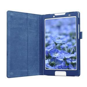 Dvoupolohové pouzdro na tablet Lenovo Tab 2 A8-50 - tmavěmodré - 4