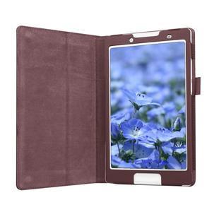 Dvoupolohové pouzdro na tablet Lenovo Tab 2 A8-50 - hnědé - 4