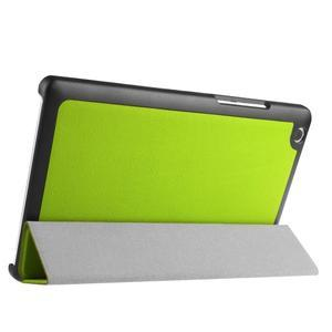 Trifold stavitelné pouzdro na Lenovo Tab 2 A8-50 - zelené - 4