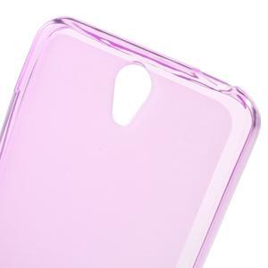 Matný gelový obal na mobil Lenovo Vibe S1 - rose - 4