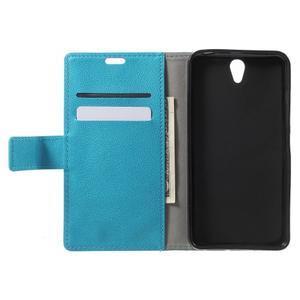 Peněženkové pouzdro na mobil Lenovo Vibe S1 - modré - 4