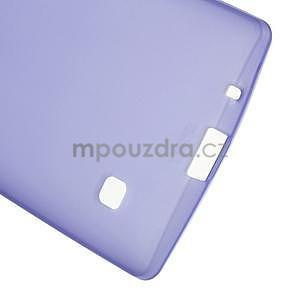Matný gelový kryt na LG Spirit - fialový - 4
