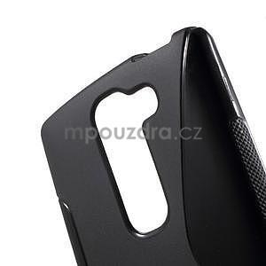 S-line gelový obal na LG Spirit 4G LTE - černý - 4