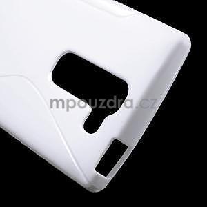 S-line gelový obal na LG Spirit 4G LTE - bílý - 4