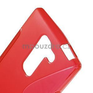 S-line gelový obal na LG Spirit 4G LTE - červený - 4