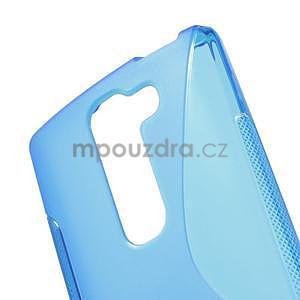 S-line gelový obal na LG Spirit 4G LTE - modrý - 4