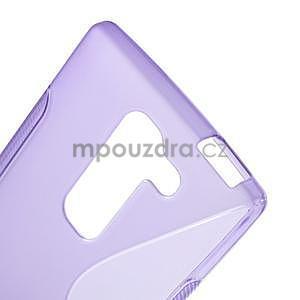 S-line gelový obal na LG Spirit 4G LTE - fialový - 4