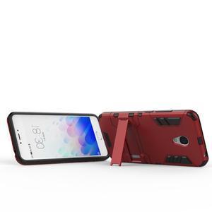 Armour odolný obal na mobil Meizu M3 note - červený - 4
