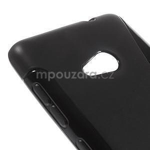 Gelový obal na Microsoft Lumia 535 - černý - 4