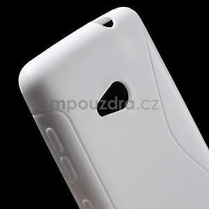Gelový obal na Microsoft Lumia 535 - bílý - 4