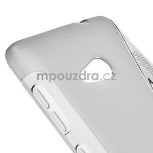 Gelový obal na Microsoft Lumia 535 - šedý - 4