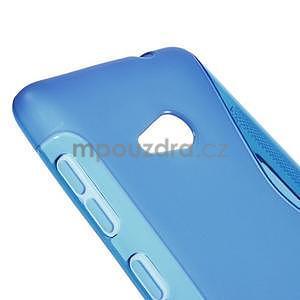 Gelový obal na Microsoft Lumia 535 - modrý - 4