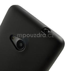 Matný gelový obal Microsoft Lumia 535 - černý - 4