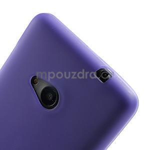 Matný gelový obal Microsoft Lumia 535 - fialový - 4