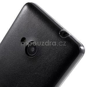 Ultra tenký kryt s jemnými koženkovými zády Microsoft Lumia 535 - černý - 4