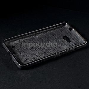 Broušený gelový obal na Microsoft Lumia 640 LTE - šedý - 4